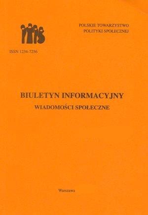 Wiadomości Społeczne 2/2007 (red. M. Grewiński), Warszawa 2007.