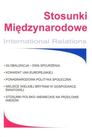 Kształtowanie się ponadnarodowej polityki społecznej naprzykładzie zastosowania Europejskiego Funduszu Społecznego w: Stosunki Międzynarodowe 3/2002