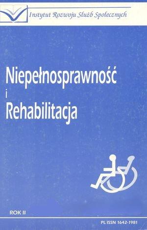 Europejska Strategia Przeciwdziałania Wykluczeniu Społecznemu iInicjatywa EQUAL jako nowe programy integracji społecznej Unii Europejskiej w: Niepełnosprawność iRehabilitacja 3/2002