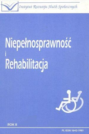 Programy iinicjatywy UE narzecz osób niepełnosprawnych – przykład EFS, w: Niepełnosprawność iRehabilitacja 2/2002, kwiecień-czerwiec 2002