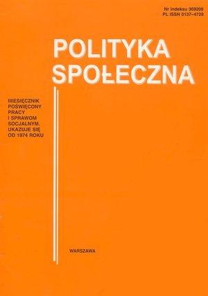 Wielosektorowa polityka społeczna – wkierunku welfare pluralism
