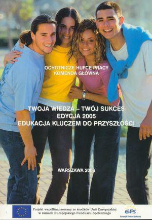 Europejski Fundusz Społeczny jako instrument welfare mix w: Twoja wiedza Twójsukces – książka podsumowująca III edycję projektu OHP, Warszawa 2006.